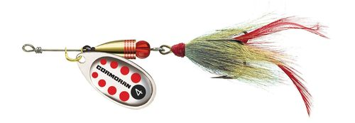 Cormoran Bullet Spinner silber//rot//gestreift